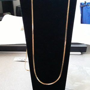 """COPY - 36"""" Gold Filled Monet Chain"""